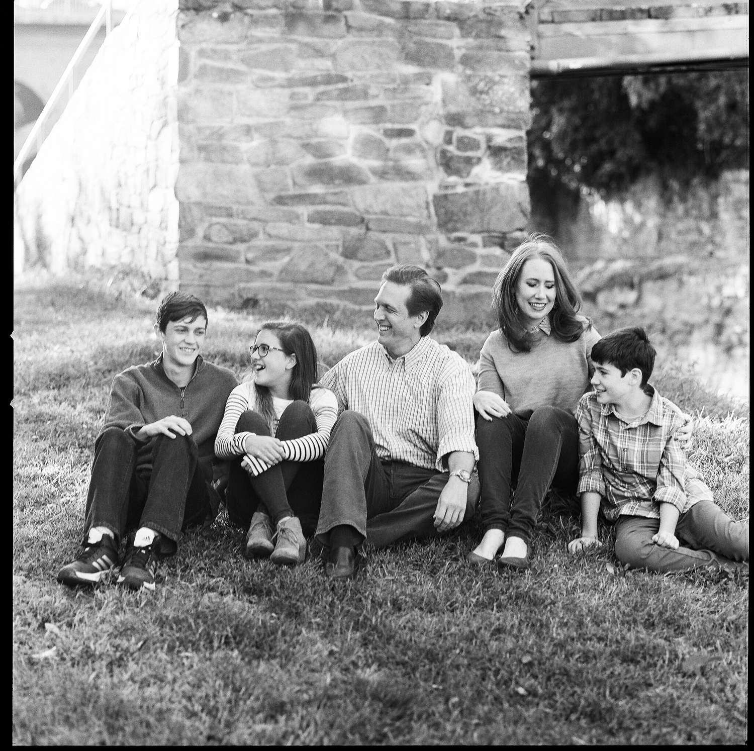 image of Georgetown Family portrait at C&O Canal in Georgetown Washington DC