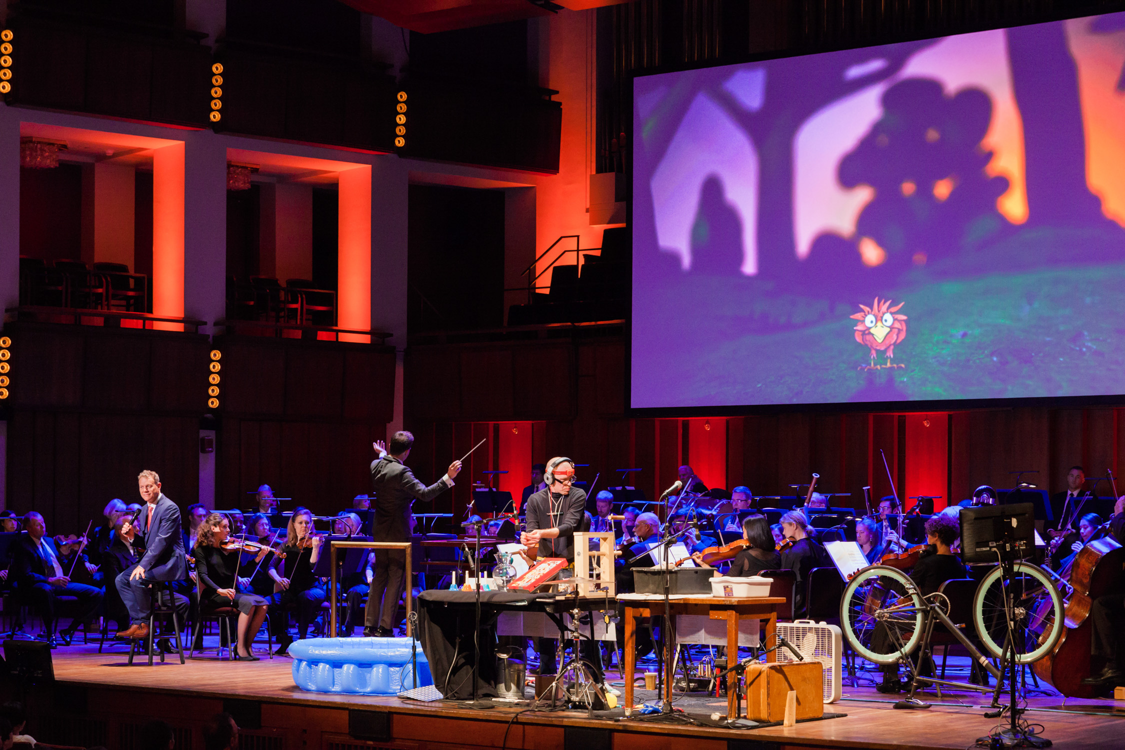 image of National Symphony Orchestra Family Day performance of Peter and the Wolf at Kennedy Center