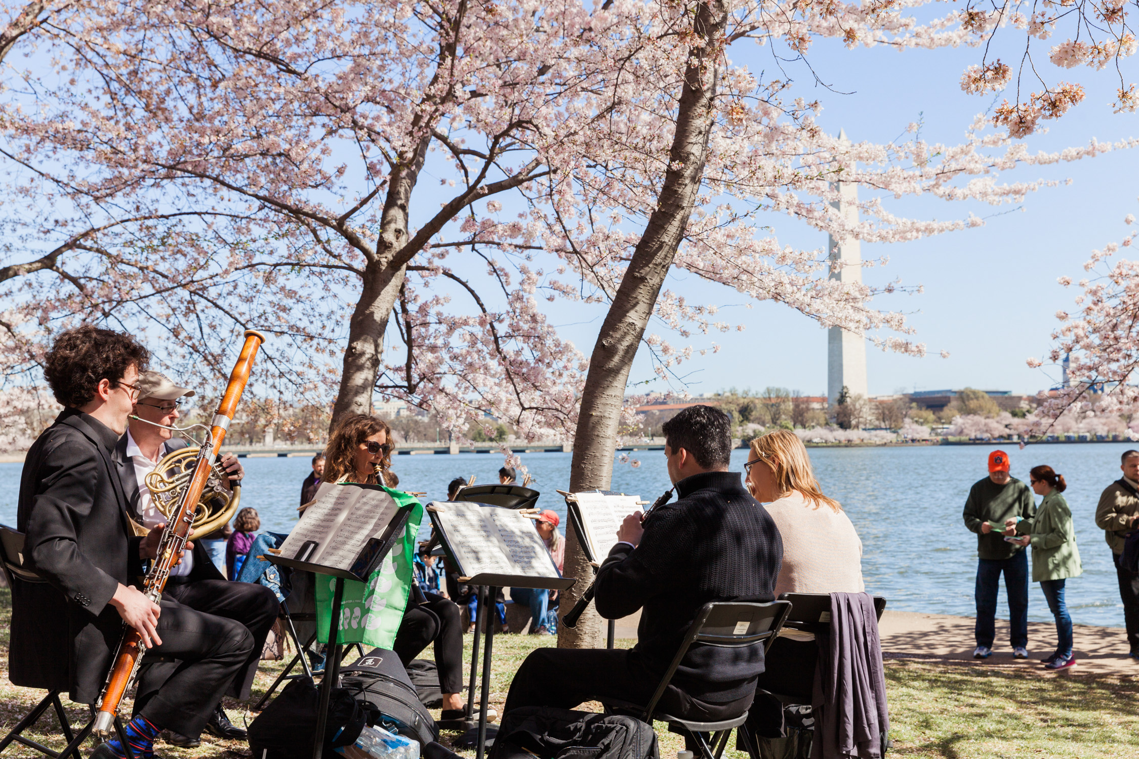 image of National Symphony Orchestra SHIFT festival at Tidal Basin in Washington DC