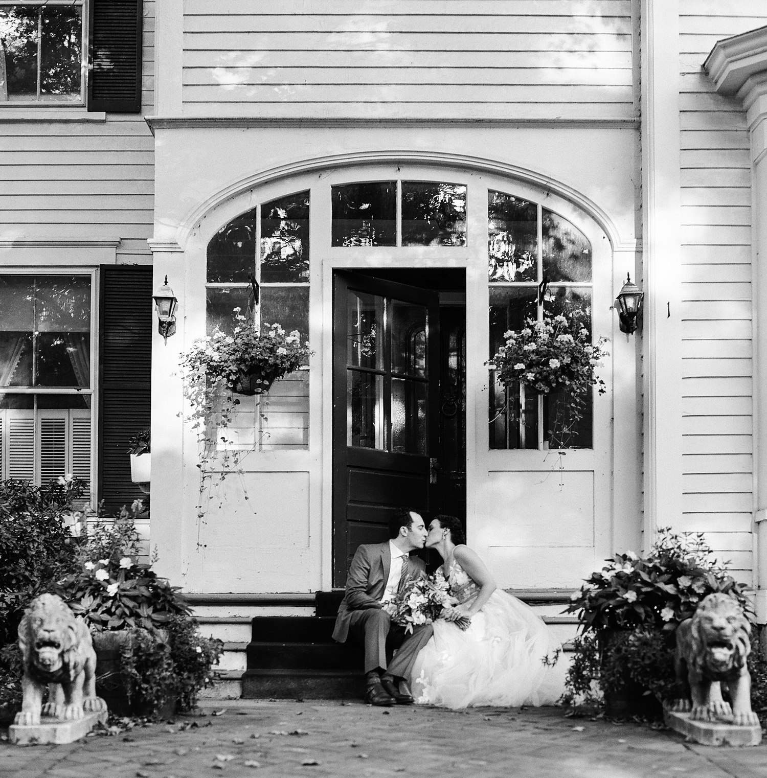 wedding at Red Lion Inn wedding Stockbridge MA