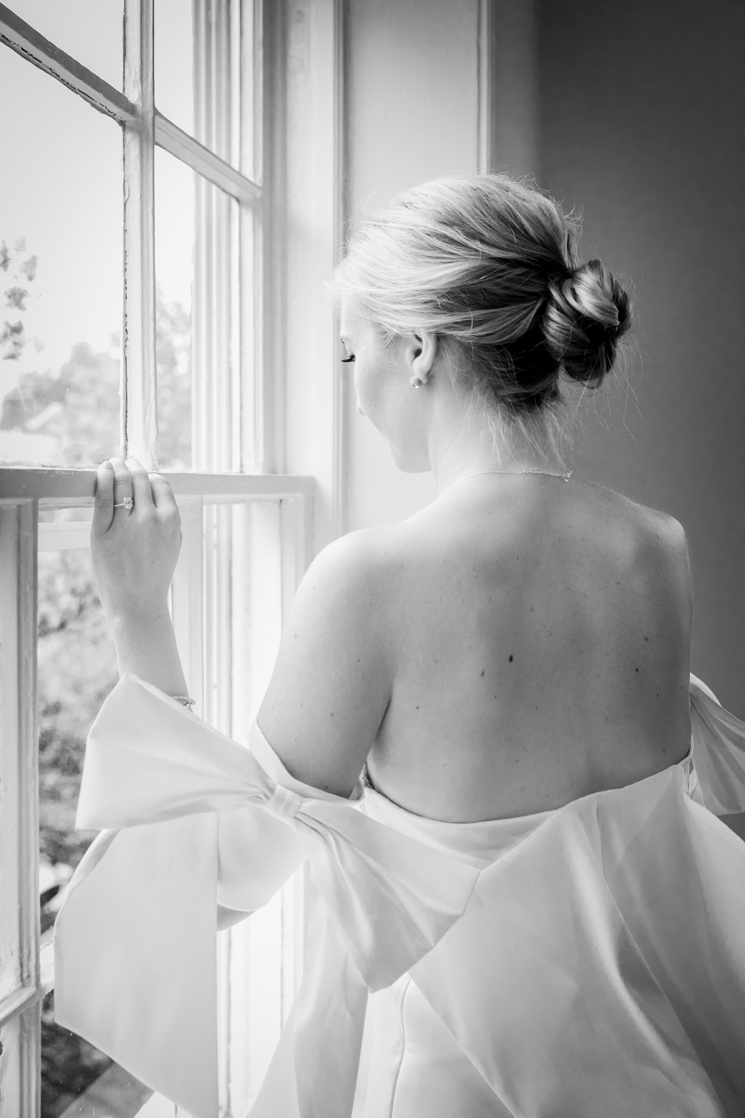 Georgetown wedding - Classic bride DC