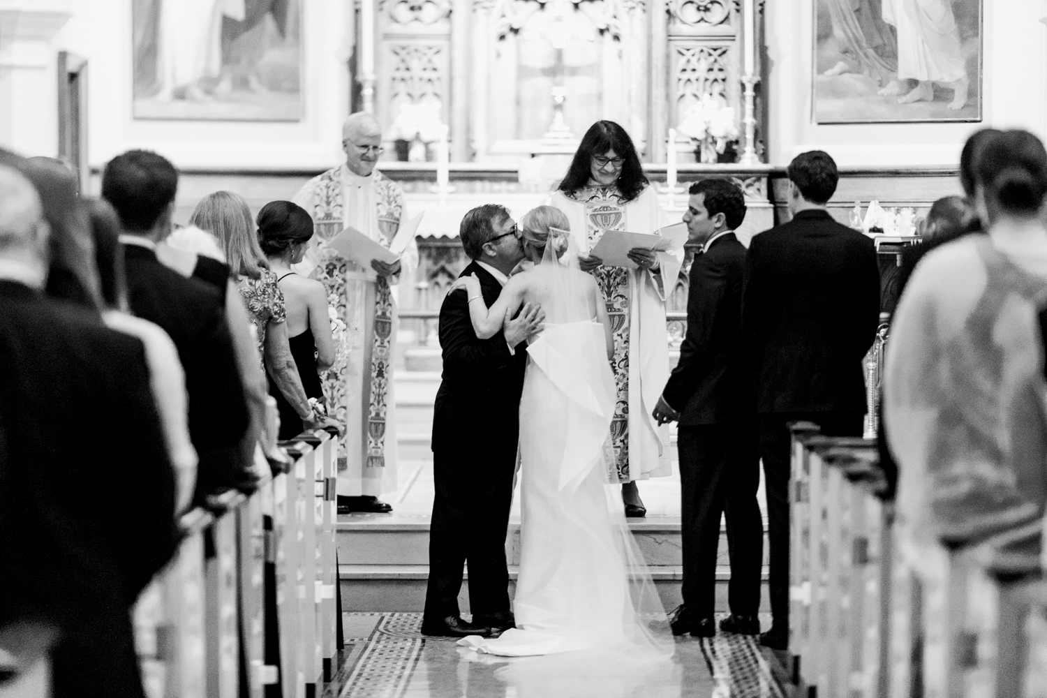 Georgetown wedding - Classic ceremony at St John's Episcopal