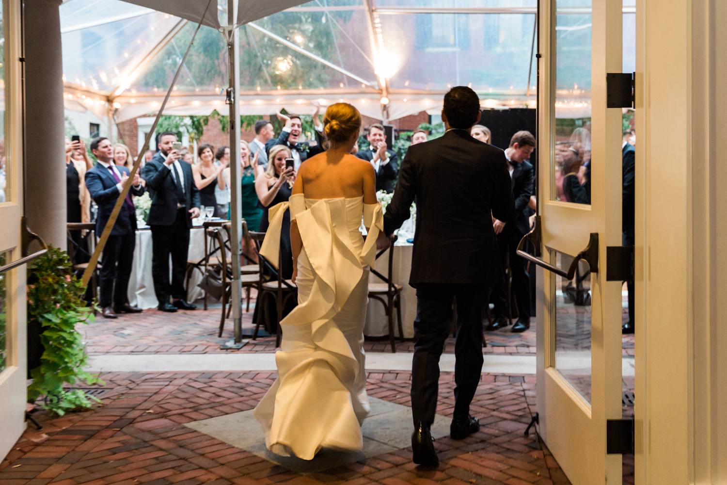 Georgetown wedding - Classic DC reception at Decatur House