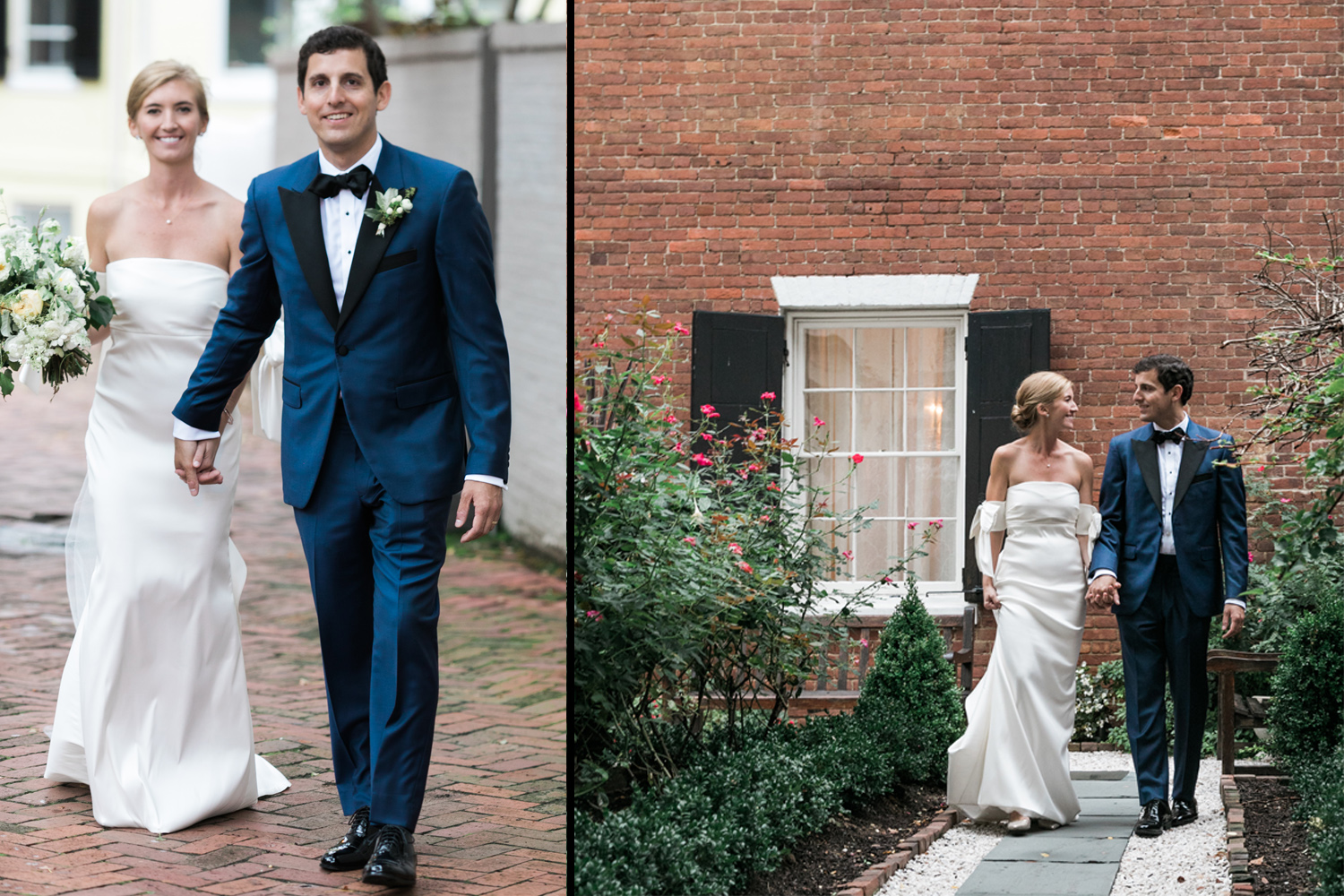 Georgetown wedding - Classic ceremony at Decatur House